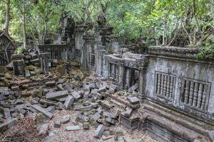 Beng Mealea Temple by Michael Nolan