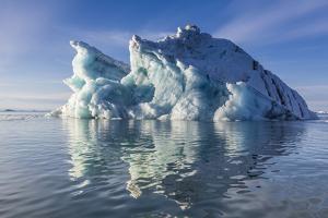 Iceberg, Vikingbukta (Viking Bay), Scoresbysund, Northeast Greenland, Polar Regions by Michael Nolan