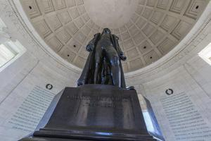 Inside the Rotunda at the Jefferson Memorial by Michael Nolan