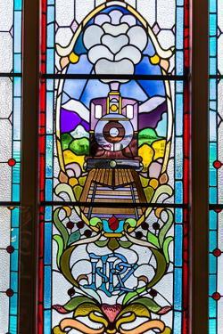 Interior of the Dunedin Railway Station in Dunedin, Otago, South Island, New Zealand, Pacific by Michael Nolan