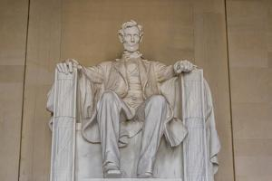 Interior View of the Lincoln Statue in the Lincoln Memorial by Michael Nolan