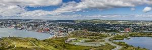 Panoramic View of St. Johns Harbour and Downtown Area, St. John'S, Newfoundland by Michael Nolan