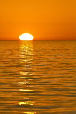Sunrise, Gulf of California (Sea of Cortez), Baja California, Mexico, North America by Michael Nolan