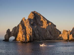 Sunrise light paints Lands End at Cabo San Lucas, Baja California Sur, Mexico by Michael Nolan