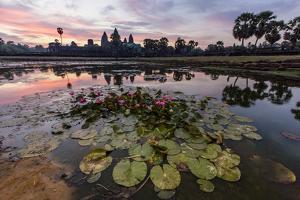 Sunrise over Angkor Wat by Michael Nolan
