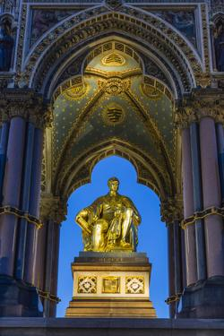 The Albert Memorial in Kensington Gardens at Sundown, London, England, United Kingdom, Europe by Michael Nolan