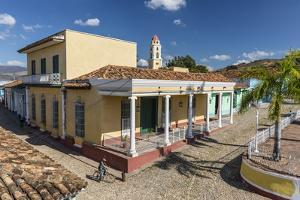The Convento de San Francisco and Plaza Mayor, Trinidad, UNESCO World Heritage Site, Cuba, West Ind by Michael Nolan