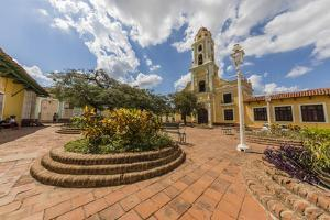 The Convento de San Francisco, Trinidad, UNESCO World Heritage Site, Cuba, West Indies, Caribbean,  by Michael Nolan
