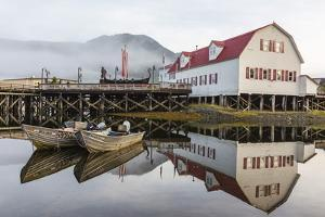 The Norwegian Fishing Town of Petersburg, Southeast Alaska, United States of America, North America by Michael Nolan