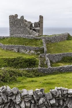 The Remains of the Abandoned Castle O'Brien on Inisheer by Michael Nolan