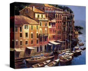 Mediterranean Port by Michael O'Toole
