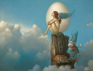Magic Spring by Michael Parkes
