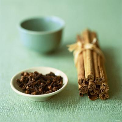 Cloves and Cinnamon Sticks by Michael Paul