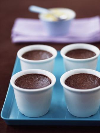 Pot Au Chocolate (Baked Chocolate Mousse) by Michael Paul