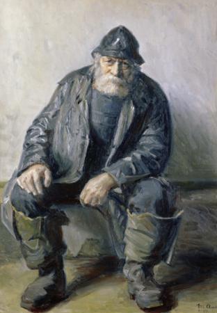 Skagen Fisherman by Michael Peter Ancher