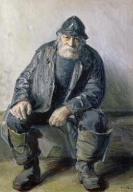 Skagen Fisherman by Michael Peter Ancher