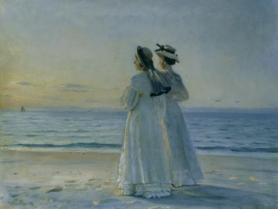 Two Women on the Beach at Skagen, 1908