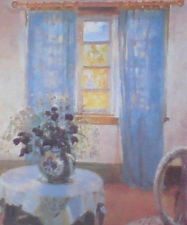 Window by Michael Peter Ancher