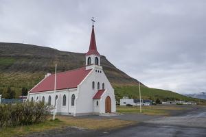 Pingeyri, Dyrafjordur, West Fjords, Iceland, Polar Regions by Michael