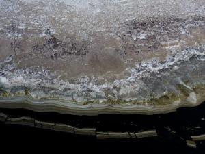 Aerial View of the Edge of Lake Natron by Michael Polzia