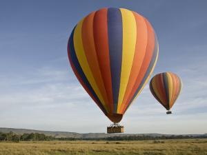 Hot Air Balloons over the Mara by Michael Polzia