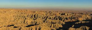 Borrego Badlands at Evening from Fonts Point, Borrego State Park by Michael Qualls