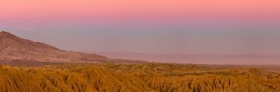 Borrego Badlands under Twilight Glow from Fonts Point, Borrego Sp by Michael Qualls
