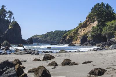 Trinidad, California. the Beach at Trinidad State Beach