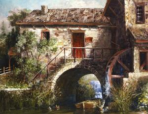 The Old Stone Mill by Michael R^ Miller
