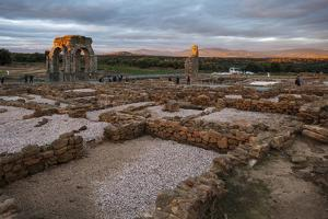 Roman Site of Caparra, Caceres, Extremadura, Spain, Europe by Michael