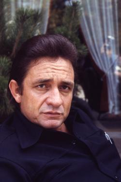 August 1969: Country and Western Singer Johnny Cash, Nashville, Tennessee by Michael Rougier