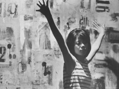 Japanese Girl Member of a Hippie Group