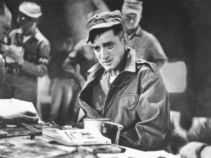 John Ploch, One of the Returned Americans, During Korean War Prisoner Exchange at Freedom Village by Michael Rougier