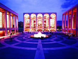 Newly Completed Lincoln Center by Michael Rougier