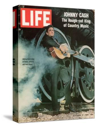 Singer Johnny Cash, November 21, 1969