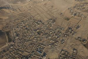 Aerial of Kabul, Afghanistan by Michael Runkel
