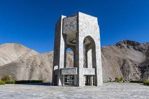 Ahmad Shah Massoud memorial, Panjshir Valley, Afghanistan by Michael Runkel