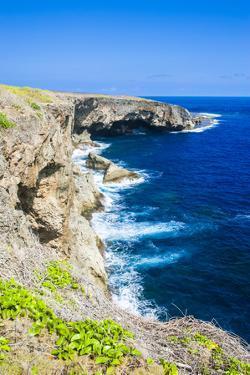 Banzai Cliffs on Saipan, Northern Marianas, Central Pacific, Pacific by Michael Runkel
