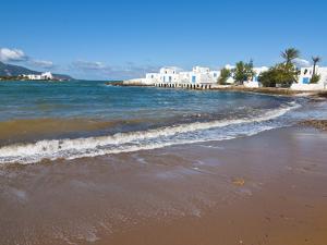Beach at Beach Resort on the Mediterranean Coast Near Tipasa, Algeria, North Africa by Michael Runkel