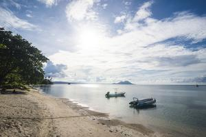 Beach in Kokopo, East New Britain, Papua New Guinea, Pacific by Michael Runkel