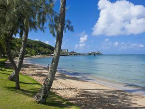 Beach in Noumea, New Caledonia, Melanesia, South Pacific, Pacific by Michael Runkel