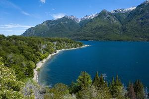 Beautiful Mountain Lake in the Los Alerces National Park by Michael Runkel