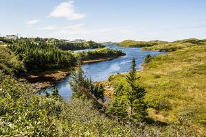 Beautiful Pond Near Port Aux Basques, Newfoundland, Canada, North America by Michael Runkel