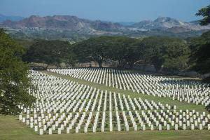 Bomana War Cemetery, Port Moresby, Papua New Guinea, Pacific by Michael Runkel