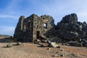 Bushiribana Gold Mine Ruins in Aruba, ABC Islands, Netherlands Antilles, Caribbean, Central America by Michael Runkel