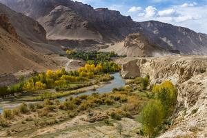 Chehel Burj (Forty Towers fortress), Yakawlang province, Bamyan, Afghanistan by Michael Runkel