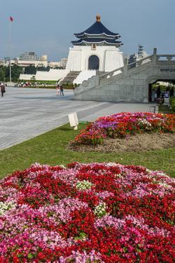 Chiang Kai-Shek Memorial Hall, Taipei, Taiwan, Asia by Michael Runkel