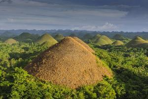 Chocolate Hills, Bohol, Philippines, Southeast Asia, Asia by Michael Runkel