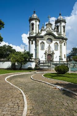 Church of Sao Francisco De Assis in Sao Joao Del Rei, Minas Gerais, Brazil, South America by Michael Runkel