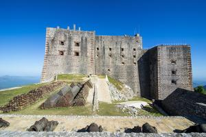 Citadelle Laferriere, UNESCO World Heritage Site, Cap Haitien, Haiti, Caribbean, Central America by Michael Runkel